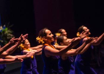 Dancers of Halau Hula Na Pua O Ka La'akea