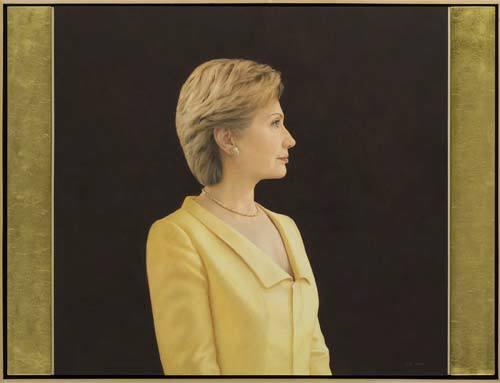 Who Painted Clinton S Portrait