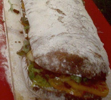 Freshly made BLT Sandwich