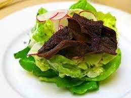 A delicately delicious salad at Bistro 29