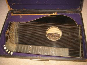 When my grandfather died, his nephew, who lived in Wisconsin, inherited his beloved zither.