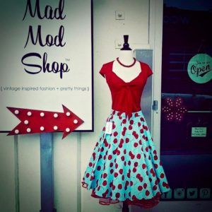 Mad Mod Shop is a great source for adorable clothing and accessories at reasonable prices.
